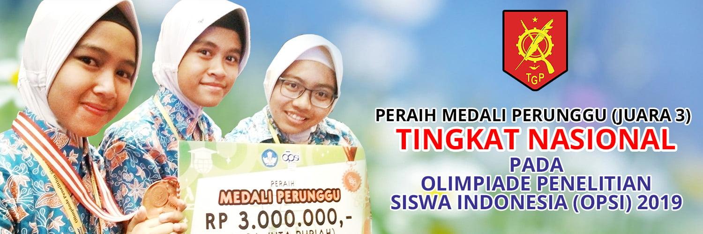 MERAIH PERUNGGU TINGKAT NASIONAL DALAM OLIMPIADE PENELITIAN SISWA INDONESIA - 2019